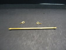 DOLLHOUSE BRASS EXPANDABLE DRAPERY ROD