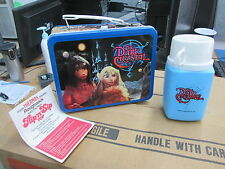 Vintage Metal 1982 The Dark Crystal Lunchbox w/ Flip N Sip Thermos & Insert