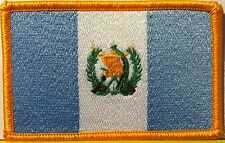 GUATEMALA Flag Patch With VELCRO® Brand Fastener Military Emblem #4