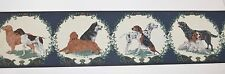 Imperial DOGS Pre-Pasted Wallpaper Border Dalmatian Beagle Irish Setter 5 yds