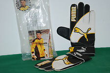 vintage puma goalkeeper gloves PAGLIUCA light 80s 1980 retro puma king 80