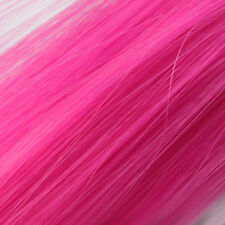 2pcs Womens Multi Color Long Straight Synthetic Clip in on Hair Extensions Piece