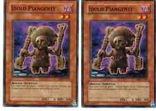 CARTA YU GI OH - 2 X IDOLO PIANGENTE - ABPF-IT021 - COMUNE - IN ITALIANO