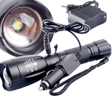 5000LM FOR Cree XM-L T6 LED Rechargeable Flashlight Torch Lamp With Charger