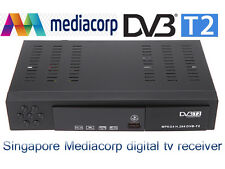2016New Singapore Mediacorp terrestrial digital tv receiver DVB-T2 tuner dvb t2