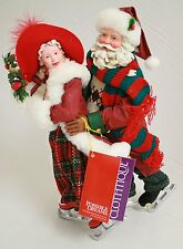 Possible Dreams® Clothtique™ Skate Mates #713783 - Santa Figurine