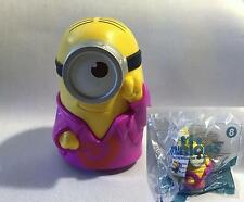 2015 McDonalds Happy Meal MINIONS MOVIE- Talking Groovy Toy #8 NEW SEALED Minion