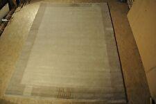 Handgeknüpfter DESIGNER Nepal Teppich beige 250x350 NEU
