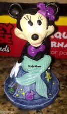 MINNIE MOUSE MERMAID Aquarium Decoration Ornament Disney Fish Tank Mickey Mouse