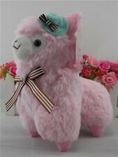 Lovely Japan Amuse Arpakasso Alpacasso Alpaca Plush Toy 18cm Pink With Hat