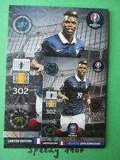 Road to UEFA EURO 2016 Limited Edition XXL  Pogba  Adrenalyn Panini France