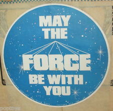 T-SHIRT TRANSFER '77 iron-on Star Wars UNUSED Factors May the Force Be With You