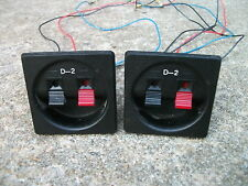 CERWIN VEGA D-2 SPEAKER ELECTRONIC CROSSOVERS, AUTOMATIC TWEETER CIRCUIT BREAKER