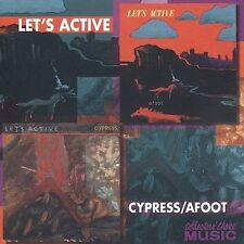 Cypress/Afoot * by Let's Active CD Dec-2003 Collectors' Choice Music Exc Cond