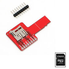 Universal Micro SD Sniffe Compatible With Arduino TF Card Adapter Plate