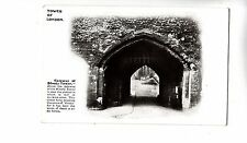 BF17407 tower of london gateway of bloody tower united kingdom  front/back image