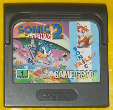 SONIC THE HEDGEHOG 2 Game Gear Versione Europea »»»»» SOLO CARTUCCIA