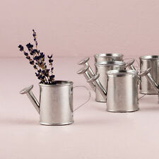 Miniature Metal Watering Cans Wedding Favor Garden Wedding Set of 12 Weddingstar