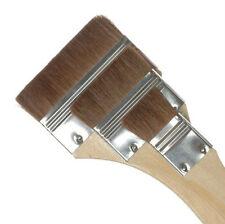 Royal & Langnickel Brush CAMEL HAIR FLAT Large Area Brushes 3 pc RART-105