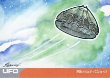 UFO Ultra Rare Danielle Ellison / UFO Sketch Card by Unstoppable Cards
