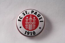 FC St Saint Pauli Football Soccer Team Leftist Ultra Pin Badge Button New 1""