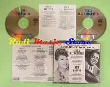CD ELLA FITZGERALD ART TATUM box 2 CD sounds international (Xs7) no lp mc dvd