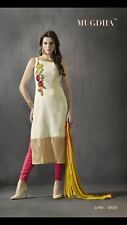 Indian Stylish Designer Suit Salwar Kameez Dress Unstitch Material Women Ladies