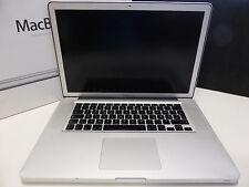 """Apple MacBook Pro Hi-Res 15.4"""" MC373D/A, i7 2.66GHz, 8GB RAM, 500GB SSD, DVD, OV"""