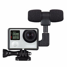 GO PRO Professional Microphone Set Protective Housing Case For GO PRO Hero 3+/4