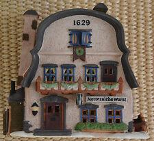 """Department 56 Alpine Village """"Metternich Wurst""""  NEW IN BOX!"""
