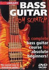 LICK LIBRARY BASS GUITAR FROM SCRATCH Learn To Play Easy Beginner Lesson DVD