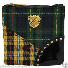 MAC A Tartan Tale Cosmetic Bag - Green/Yellow Plaid