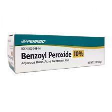 Perrigo 10 % Benzoyl Peroxide Acne Treatment Gel 2.1 oz