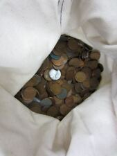 Canvas bag of 5000 LINCOLN HEAD PENNIES Wheat Cents $50 Lots of Pre-1940 &S Mint