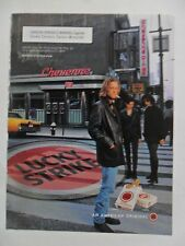 1997 Print Ad Lucky Strike Cigarettes ~ Cheyenne Diner Leather Jacket