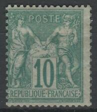 """FRANCE STAMP TIMBRE N° 65 """" SAGE 10c VERT TYPE I """" NEUF x TB A VOIR   N143"""