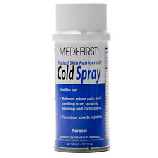 MEDI-FIRST Cold Spray Skin Pain Freeze Anesthetic 4 Oz Aerosol Can MediFirst New