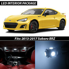 2013-2017 Subaru BRZ White Interior LED Lights Package Kit