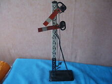412 I Antique Bing Pc Railway Traffic Signal Litho Tin Toy