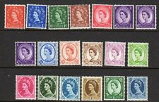 SG610-618a 1960 Multi Crown Phos W/M Set UNMOUNTED MINT