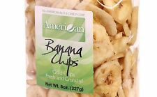 8oz Gourmet Style Bag of Golden Sweetened Banana Chips (52.9)