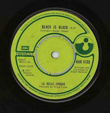 "LA BELLE EPOQUE-Black Is Black  7""single"