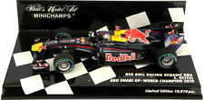 Minichamps Red Bull RB6 Abu Dhabi GP 2010 S Vettel 2010 F1 World Champion 1/43