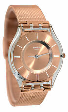 Swatch SFP115M Hello Darling Rose Gold SKIN Women Watch NEW