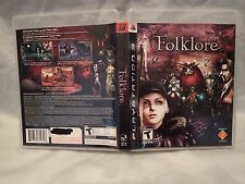 Folklore (Sony PlayStation 3, 2007) Complete, Tested, Fast shipping, Rare/HTF