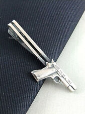 Tie Clasps & Tacks RooZee Tie Clip Tie Bar Tie Pin Colt Gun Made Japan