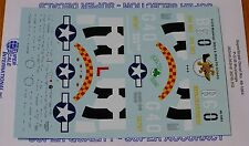 Microscale Decal 1:48 Scale #MS48-1064 / P-51B Mustangs: 362nd & 363rd FS/357th