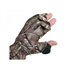 MED Camo Gloves Folding Fingers 4 carp pike fishing Hunting Shooting