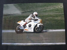 Photo Jan Oudbier SNRT Honda RS500 1986 #1 Rob Punt (NED) #1