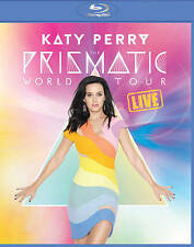 Katy Perry The Prismatic World Tour Live Blu-ray NEW Factory Sealed -cut barcode